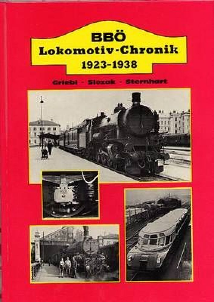 BBÖ Lokomotiv-Chronik  1923 - 1938
