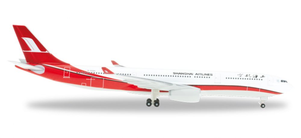 Herpa 526586: A330-300 Shanghai Airlines